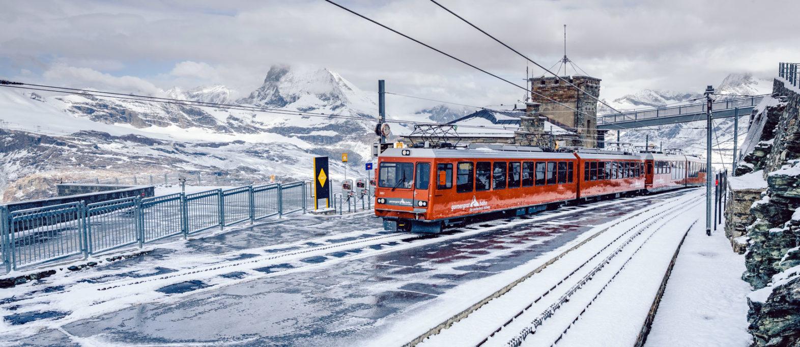Gornergratbahn Matterhorn Zermatt