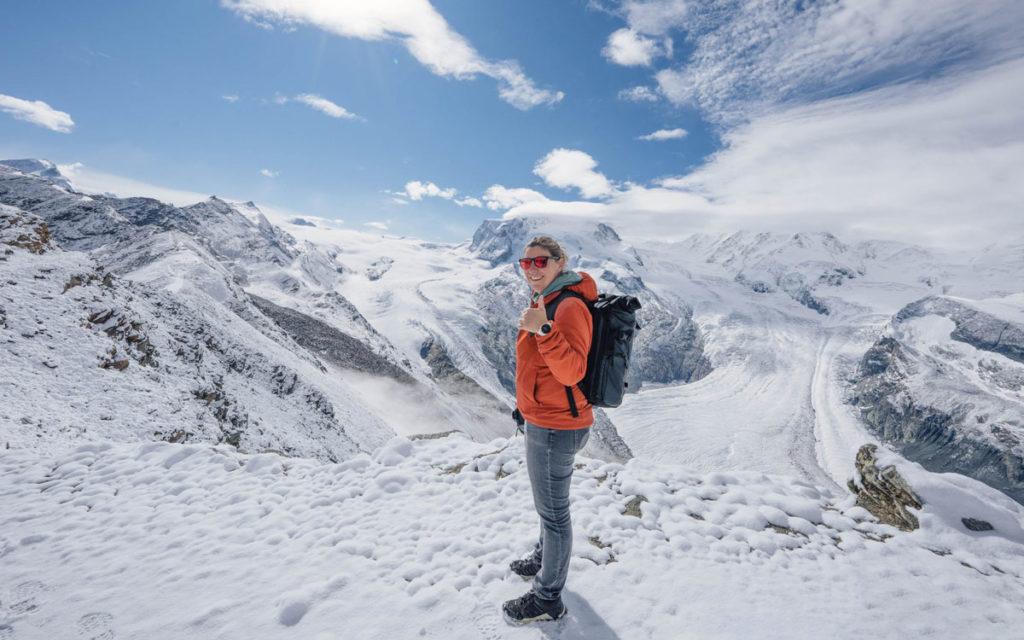 Gletscher Gornergrat Zermatt