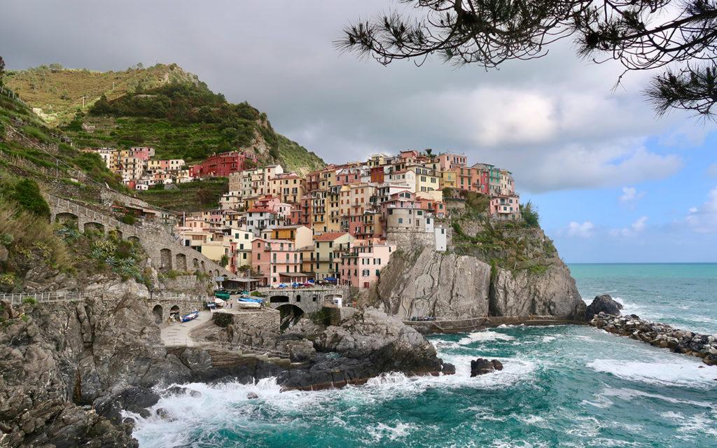 Manarola Cinque Terre Italien