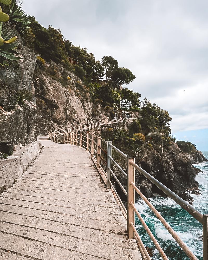 Wanderung in Cinque Terre ab Monterosso