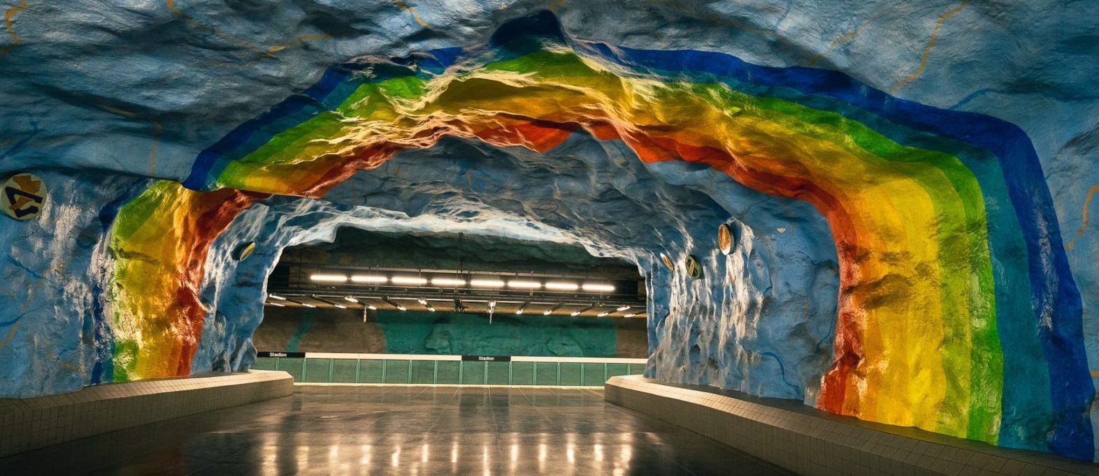Geheimtipp Stockholm Ubahn Stationen Kunstwerke