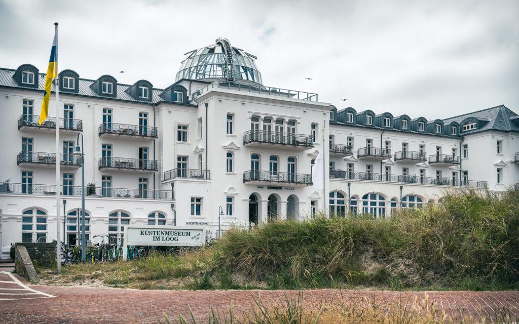 Die bekannteste Unterkunft auf Juist: Kurhaus