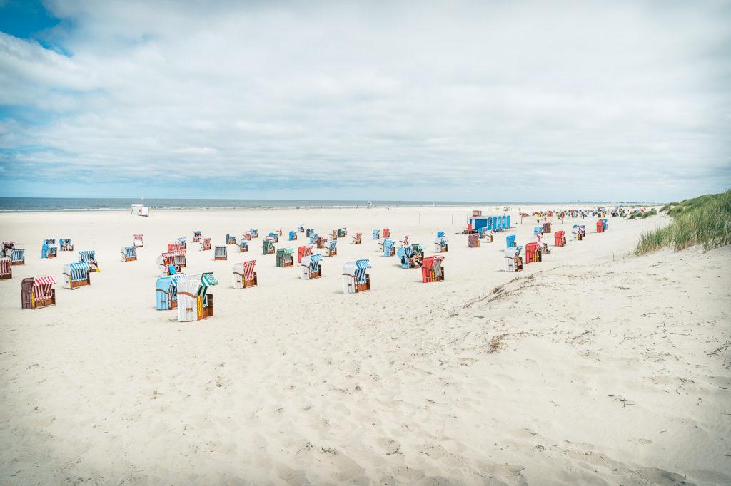 Schöner Strand auf Juist