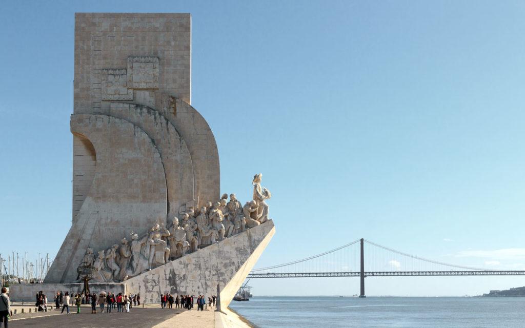 Padrão dos Descobrimentos Lissabon Denkmal