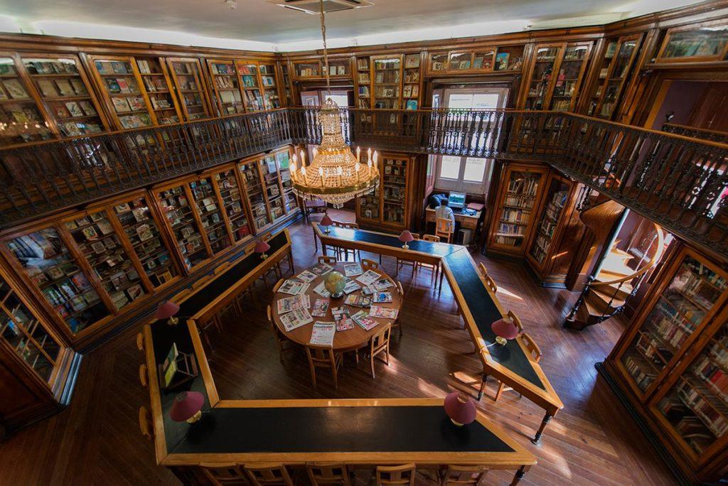 Geheimtipp Lissabon Sao Lazaro Bibliothek