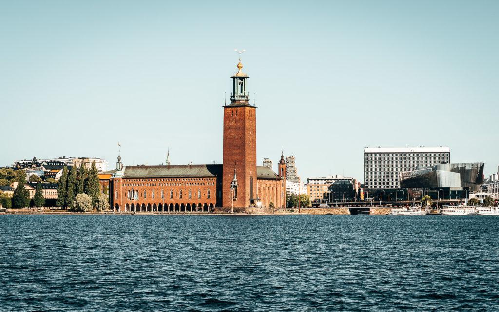 Vom Stadshuset - dem Rathausturm - hast du einen tollen Blick auf Stockholm