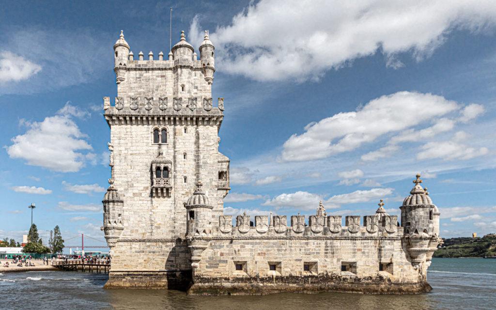 Torre de Belém Wahrzeichen Lissabon eine der meistbesuchten Sehenswürdigkeiten