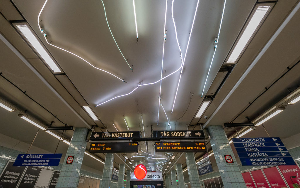 Stockholm: Kunst in den U-Bahn-Stationen auf eigene Faust als Tour 12