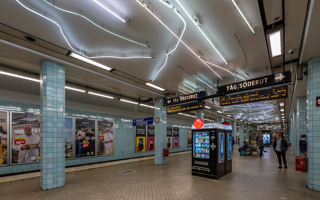 Stockholm: Kunst in den U-Bahn-Stationen auf eigene Faust als Tour 14