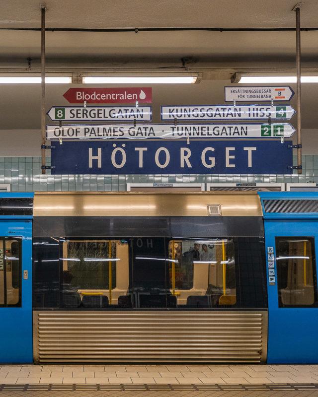 Stockholm: Kunst in den U-Bahn-Stationen auf eigene Faust als Tour 13