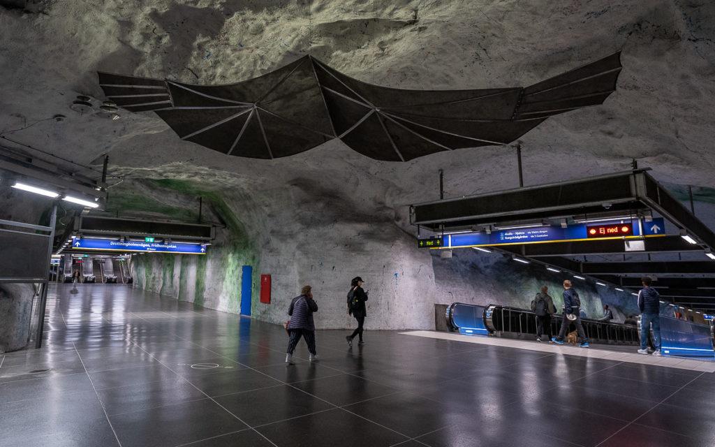 Stockholm: Kunst in den U-Bahn-Stationen auf eigene Faust als Tour 21