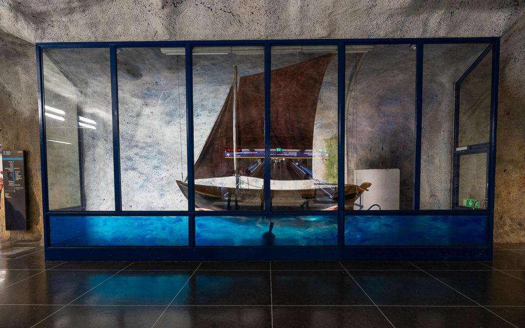 Stockholm: Kunst in den U-Bahn-Stationen auf eigene Faust als Tour 23