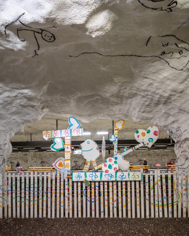 Stockholm: Kunst in den U-Bahn-Stationen auf eigene Faust als Tour 29