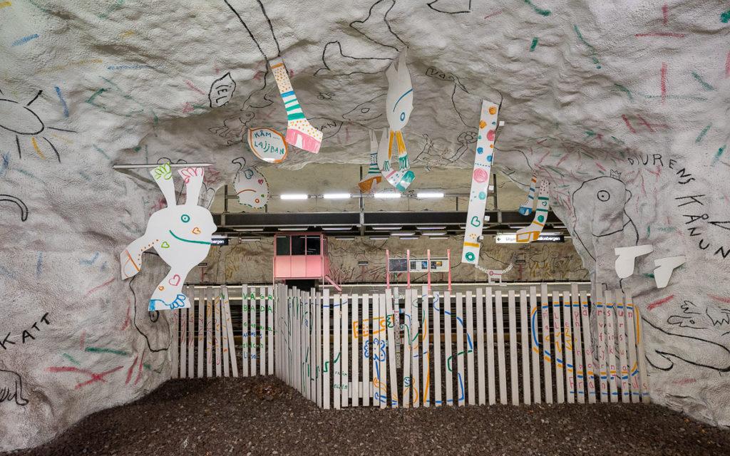 Stockholm: Kunst in den U-Bahn-Stationen auf eigene Faust als Tour 28