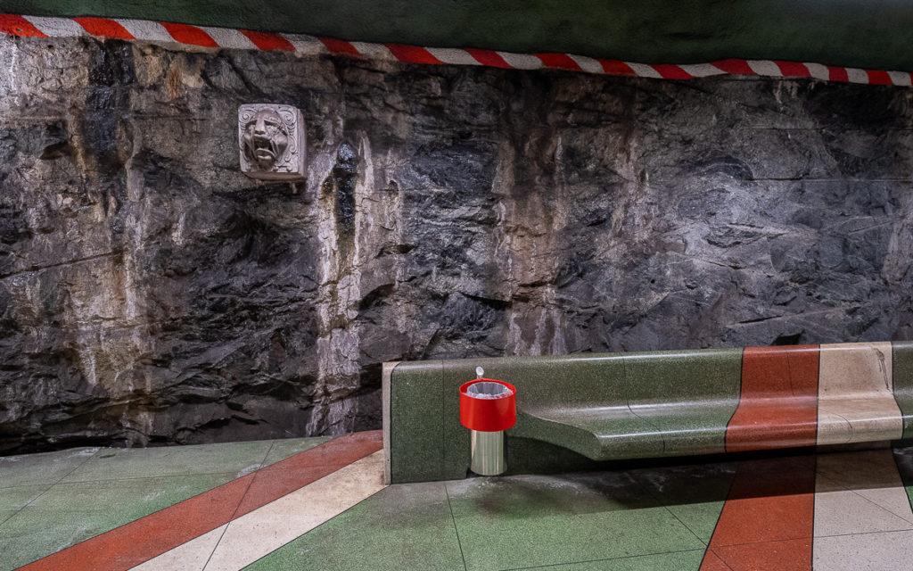 Stockholm: Kunst in den U-Bahn-Stationen auf eigene Faust als Tour 33
