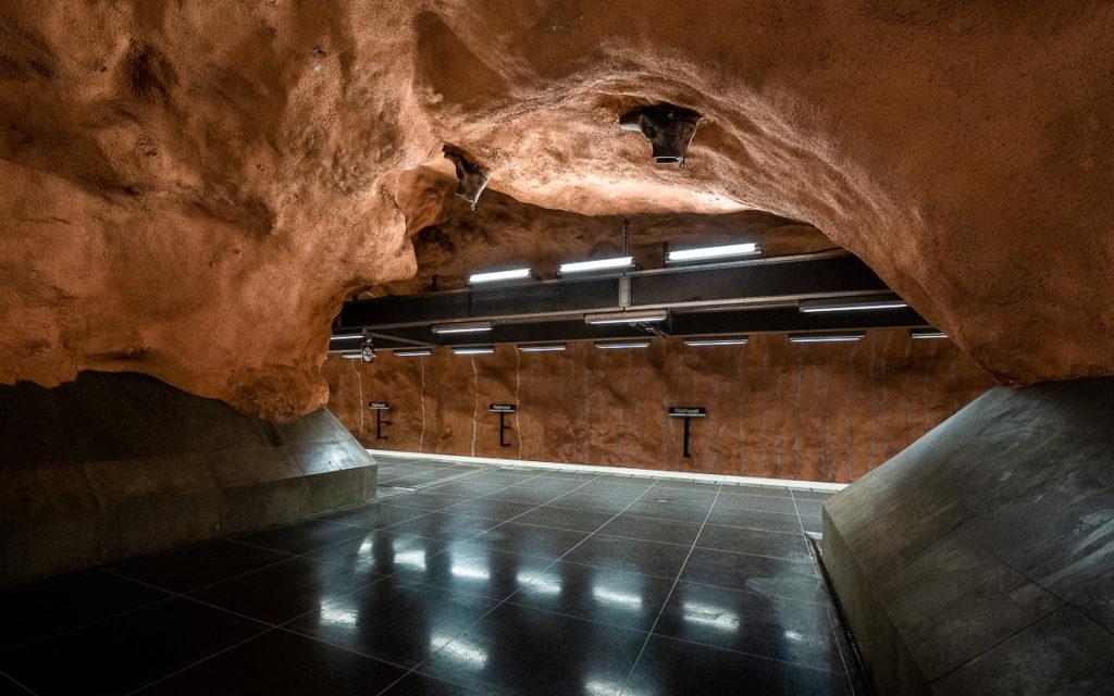 Stockholm: Kunst in den U-Bahn-Stationen auf eigene Faust als Tour 31