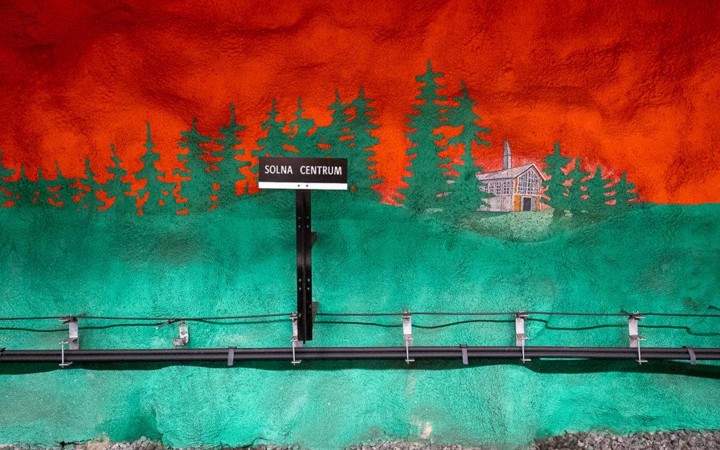 Stockholm: Kunst in den U-Bahn-Stationen auf eigene Faust als Tour 27