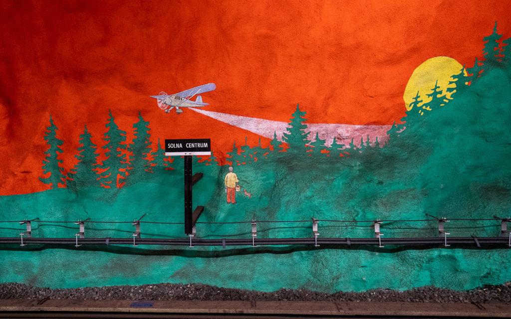 Stockholm: Kunst in den U-Bahn-Stationen auf eigene Faust als Tour 26