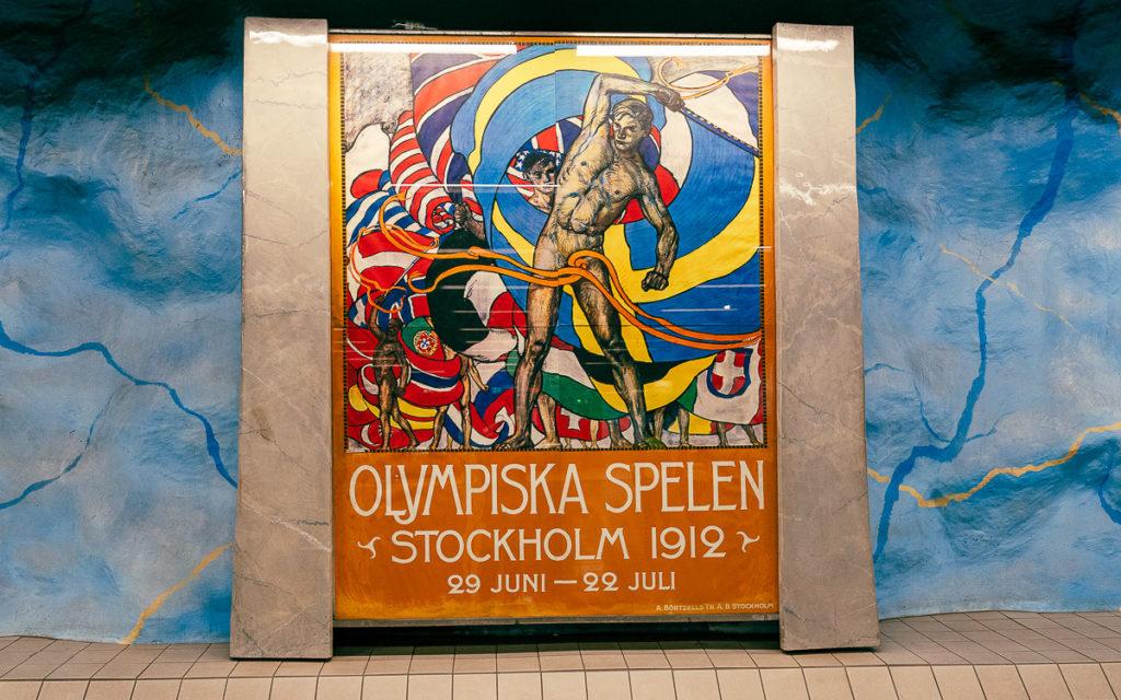 Stockholm: Kunst in den U-Bahn-Stationen auf eigene Faust als Tour 2