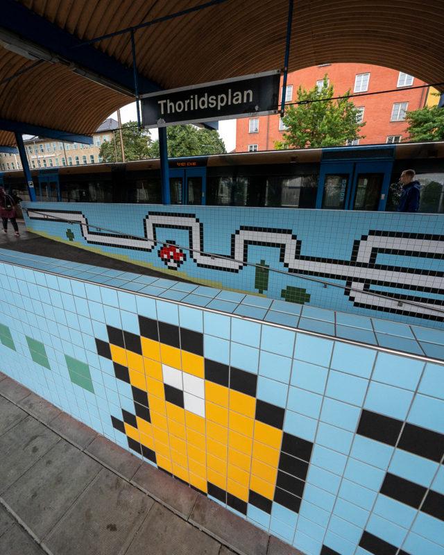 Stockholm: Kunst in den U-Bahn-Stationen auf eigene Faust als Tour 19