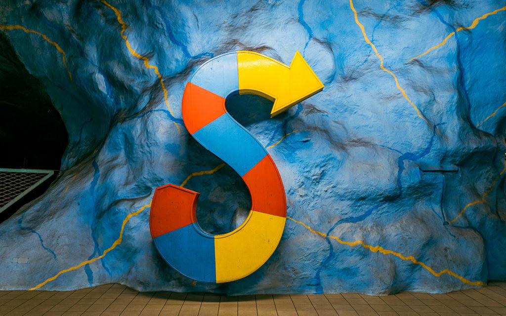 Stockholm: Kunst in den U-Bahn-Stationen auf eigene Faust als Tour 1
