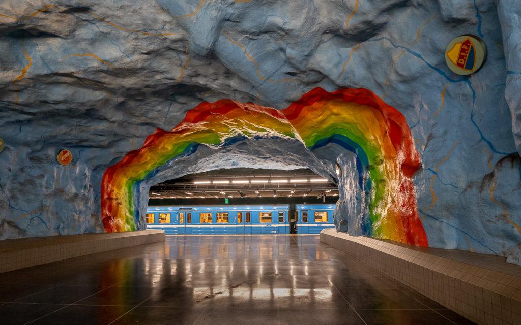 Stockholm: Kunst in den U-Bahn-Stationen auf eigene Faust als Tour 6