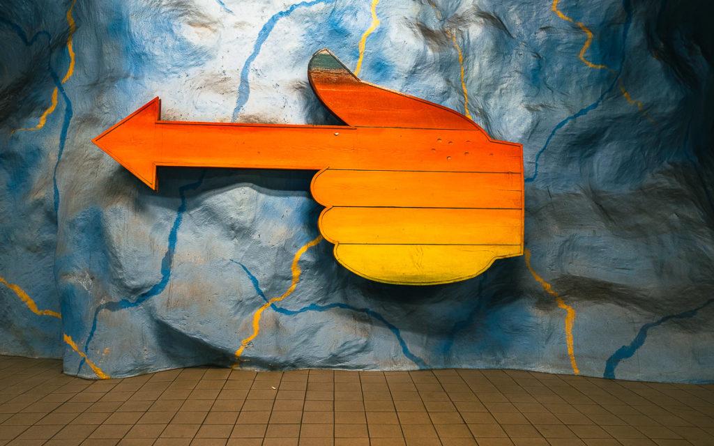 Stockholm: Kunst in den U-Bahn-Stationen auf eigene Faust als Tour 3