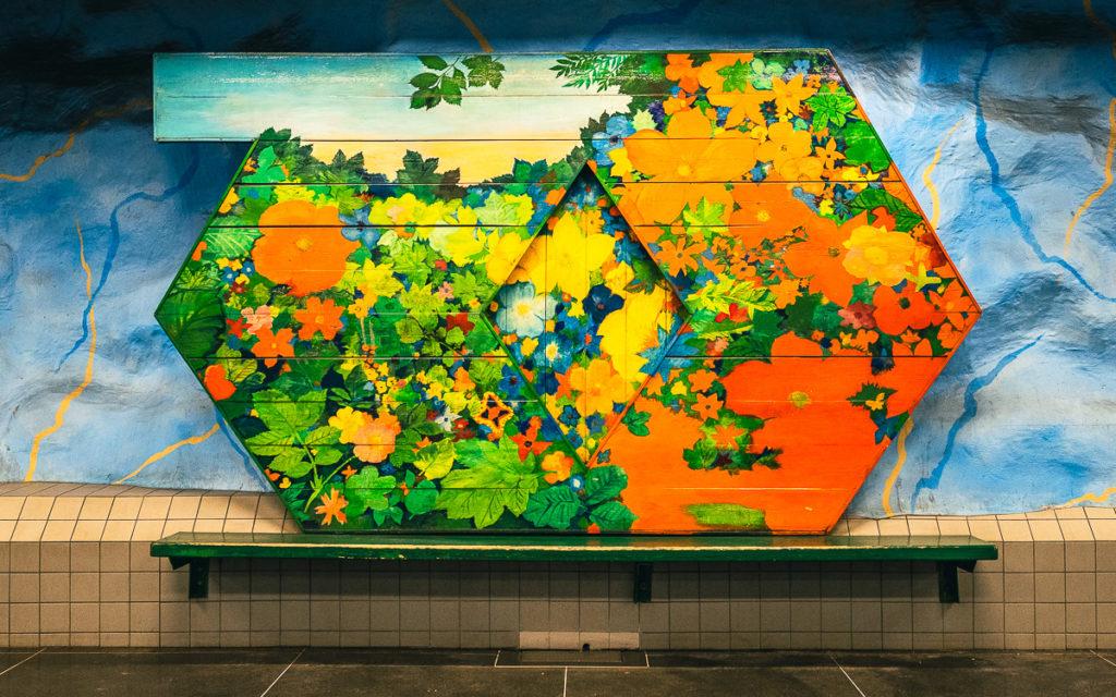 Stockholm: Kunst in den U-Bahn-Stationen auf eigene Faust als Tour 4