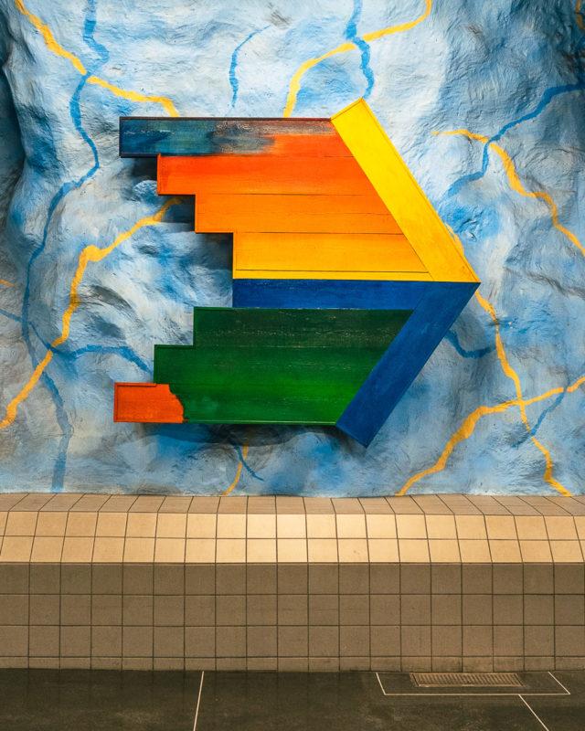 Stockholm: Kunst in den U-Bahn-Stationen auf eigene Faust als Tour 5