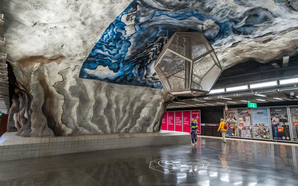 Stockholm: Kunst in den U-Bahn-Stationen auf eigene Faust als Tour 8