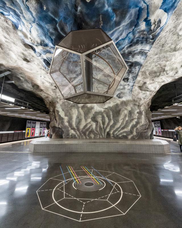 Stockholm: Kunst in den U-Bahn-Stationen auf eigene Faust als Tour 7