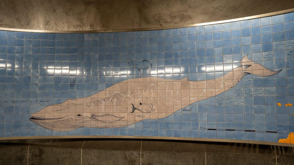 Stockholm: Kunst in den U-Bahn-Stationen auf eigene Faust als Tour 9