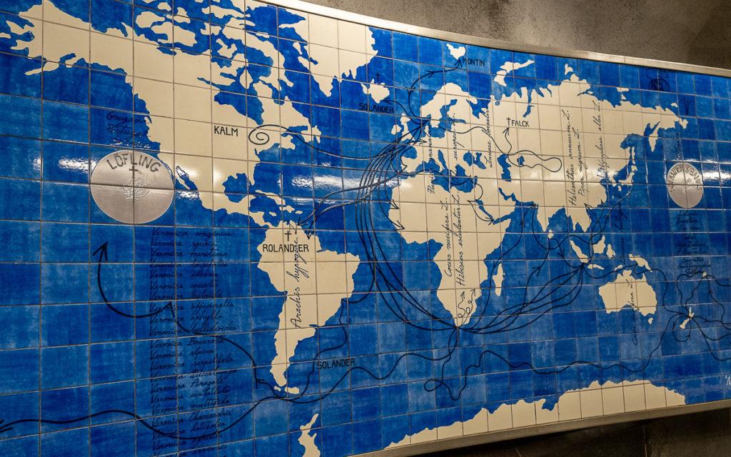 Stockholm: Kunst in den U-Bahn-Stationen auf eigene Faust als Tour 10