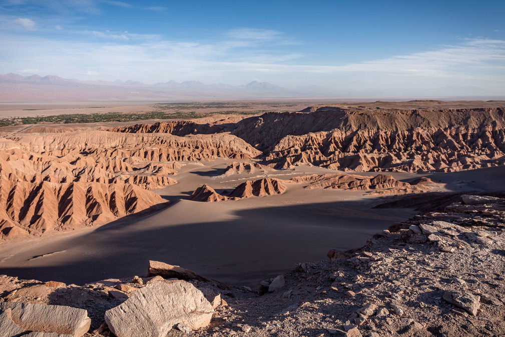 Atacama Wüste Valle de Muerte Licancabur