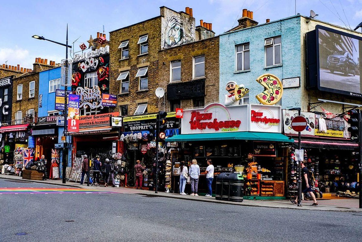 Camden Market in London besuchen