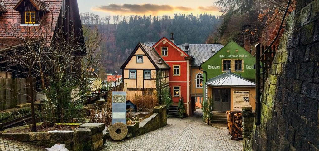 Schmilka Bio-Dorf Sächsische Schweiz
